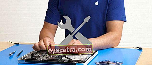 Komplet liste over Apple-servicecentre i Indonesien, mest opdateret!
