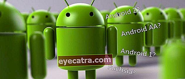 Disse er Android-navngivningsteorier efter Android Z, vil Android blive pensioneret?