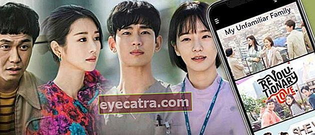 12 alkalmazás a koreai dráma (Drakor) megtekintésére a legjobb ingyenes indo sub 2020-ig