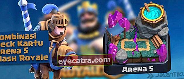 Kártya-kombinációk (Battle Deck) Aréna 5 legjobb Clash Royale