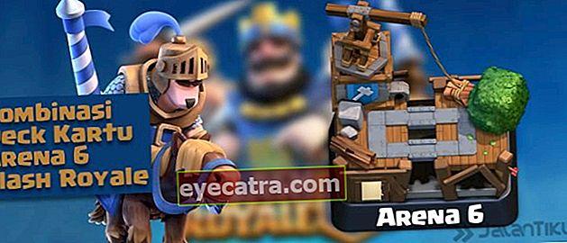 Kártya kombinációk (Battle Deck) Aréna 6 legjobb Clash Royale