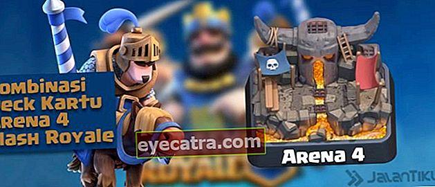 Kártya kombinációk (Battle Deck) Aréna 4 legjobb Clash Royale