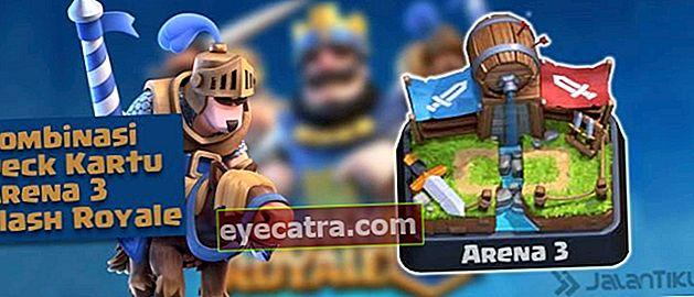 Kártya kombinációk (Battle Deck) Aréna 3 legjobb Clash Royale