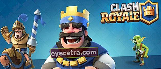 Hogyan készítsünk Clan Clash Royale-t Android és iOS rendszeren