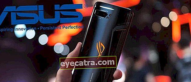 7 Asus mobiltelefon a legjobb játékért, a jobb oldalon lévő PUBG!