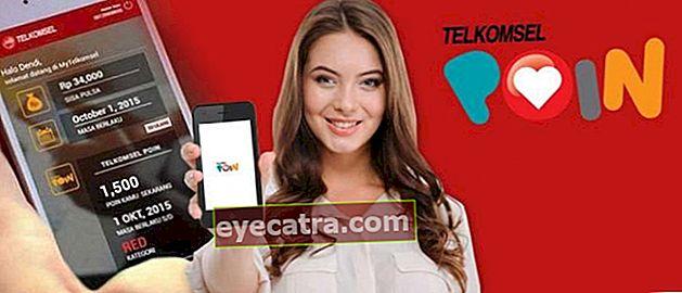 3 módszer a Telkomsel POIN ellenőrzésére és a legújabb 2021-es beváltására