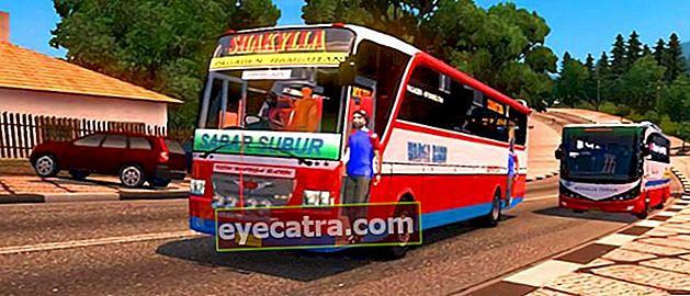 10 πιο πρόσφατα παιχνίδια προσομοιωτή λεωφορείων στην Ινδονησία για Android, δωρεάν λήψη!