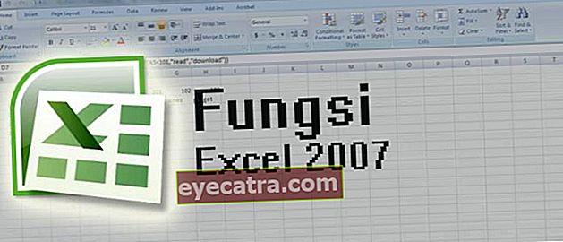 Συμπληρώστε τους τύπους και τύπους του Microsoft Excel 2007 που πρέπει να μάθετε