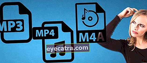 Αυτή είναι η διαφορά μεταξύ MP3, MP4 και M4A: Ποιο είναι το καλύτερο;
