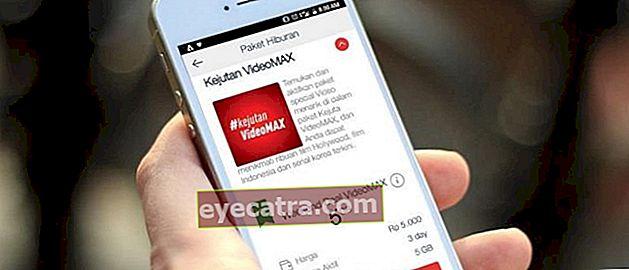 Ικανοποιημένοι με το Διαδίκτυο, μπορείτε να χρησιμοποιήσετε το όριο VideoMax της Telkomsel!