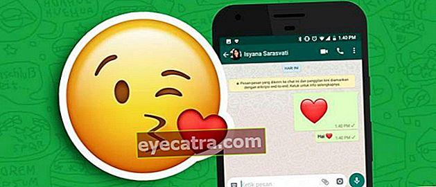 Hvordan man laver emoji i bevægelse på WhatsApp, chat er endnu mere spændende!