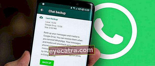 Sådan sikkerhedskopieres og gendannes WhatsApp Chats via Google Drive