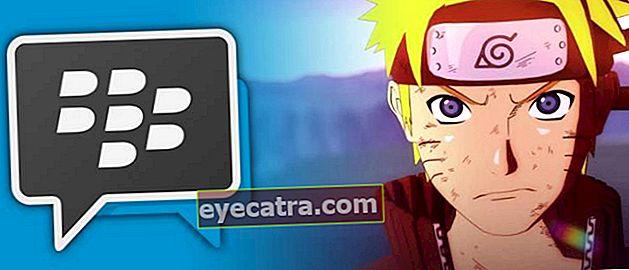 Sådan bruges det nyeste Naruto Theme BBM Mod på Android