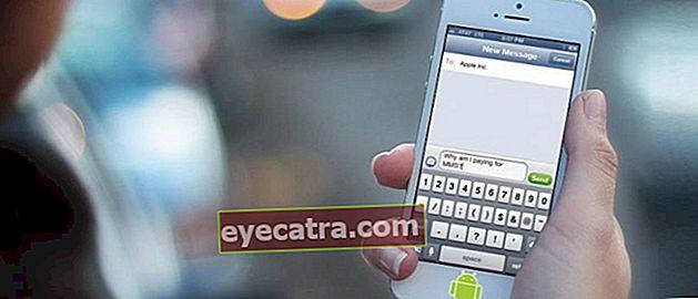 Nemme måder at gøre din Android-mobiltelefon SMS-skærm som en iPhone