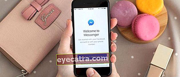 Sådan bruges Facebook Messenger uden en Facebook-konto