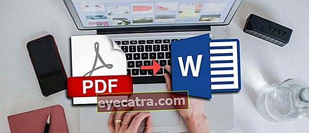 5 módszer a PDF konvertálásához Word-be laptopon és Androidon | Online és offline!
