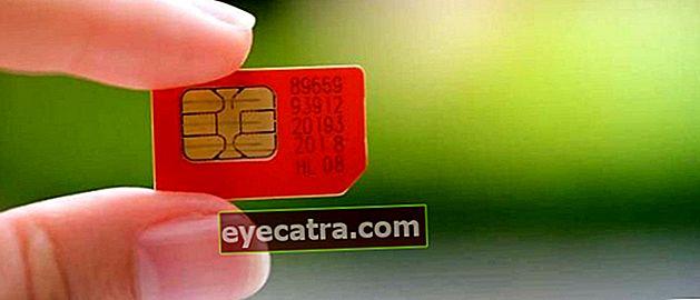 Sådan afregistreres Telkomsel, Indosat, XL, Smartfren og Tri-kort Seneste 2021