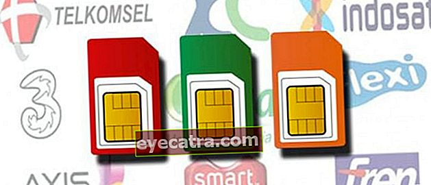 Sådan registreres Telkomsel, XL, Indosat, Tri, Smartfren-kort Seneste 2021