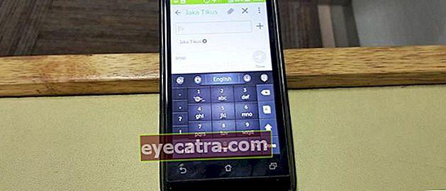 Πώς να αλλάξετε το πληκτρολόγιο QWERTY σε Android έτσι ABC όπως παλιά HP